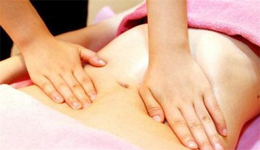 沈阳焦东海减肥医院为你展示肚子上按摩的图片